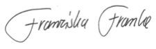 franke-unterschrift