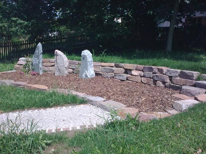 Grabstättenkonzept mit pflegeleichten Gräbern - 017