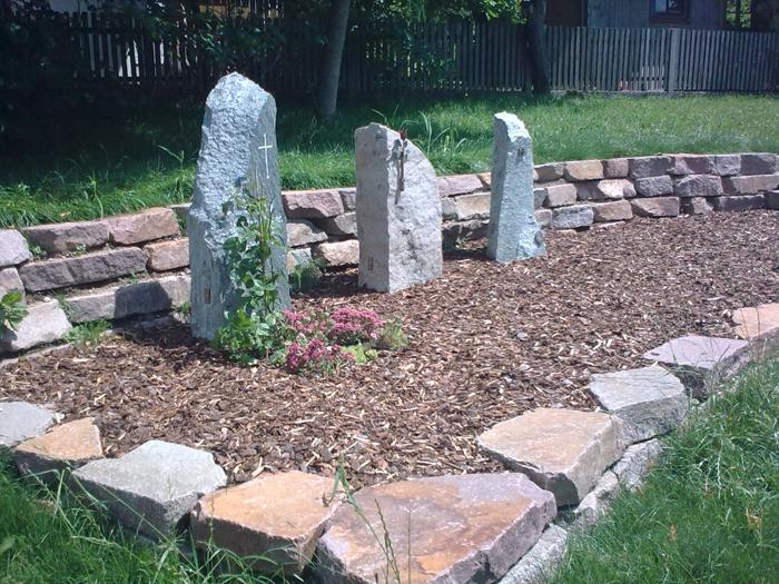 Grabstättenkonzept mit pflegeleichten Gräbern - 019