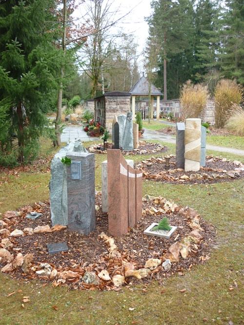 Grabstättenkonzept mit pflegeleichten Gräbern - 021