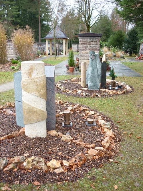 Grabstättenkonzept mit pflegeleichten Gräbern - 023