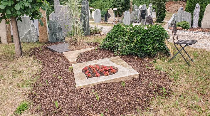 Franke Naturstein Kategorie Friedhof der Zukunft