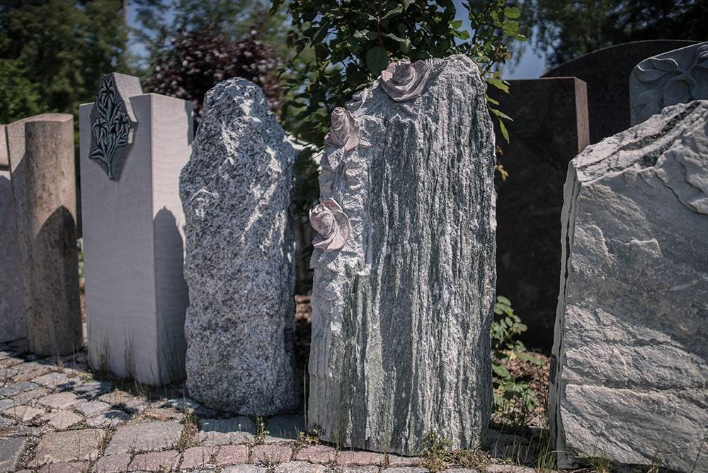 Franke Naturstein Grabdenkmäler Ausstellung 3