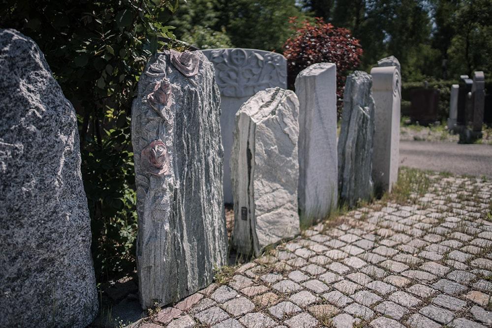Franke Naturstein Grabdenkmäler Ausstellung 4