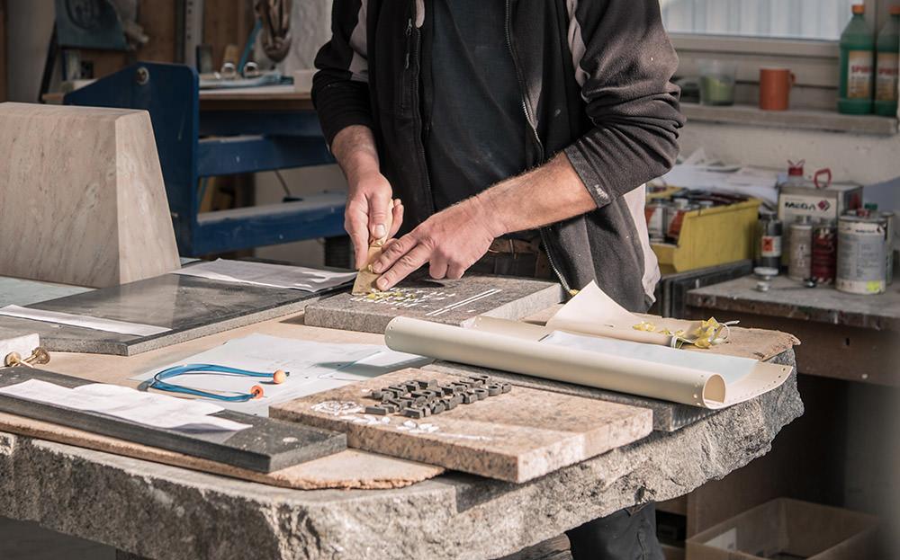 Steinmetzbetrieb Franke Naturstein auch tätig für Dorfen und Umgebung
